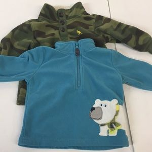 Carter's Baby Jackets Size 6 Months Set of 2